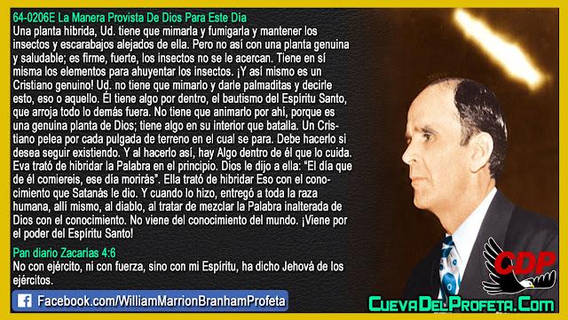 Como es un cristiano genuino - William Branham en Español