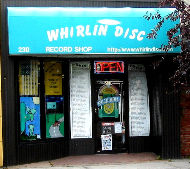 Whirlin Disc Record Store Farmingdale Long Island