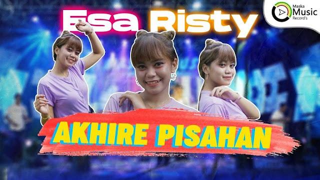 Lirik lagu Esa Risty Akhire Pisahan