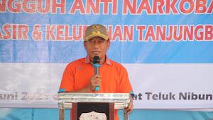 Plt Wali Kota Tanjungbalai Hadiri Pencanangan Anti Narkoba di Kelurahan Pematang Pasir Dan Kelurahan Tanjungbalai Kota III
