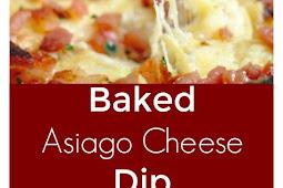Baked Asiago Cheese Dip