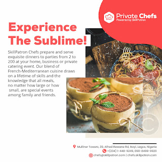 """Jake Adebayo's SkillPatron Launches an """"on-demand' Personal & Private Chef For Hire Service in Africa 2"""
