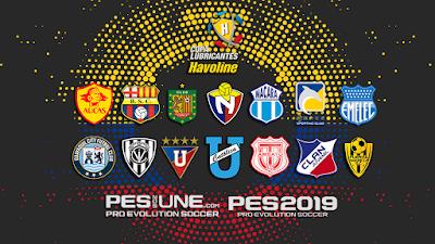 PES 2019 PS4 Option File Copa Lubricantes Havoline Season 2018/2019