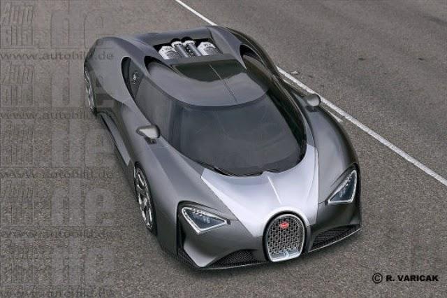 2017 bugatti chiron: the $2.5-million, 1500-hp son of veyron