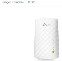 TP-Link RE220 Extender ($30 on Amazon)