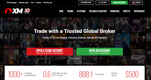 review broker xm dan cara buka akun