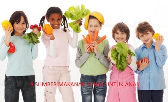 Sumber Makanan Sehat untuk Anak
