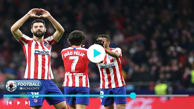 Atlético Madrid vs Levante Highlights