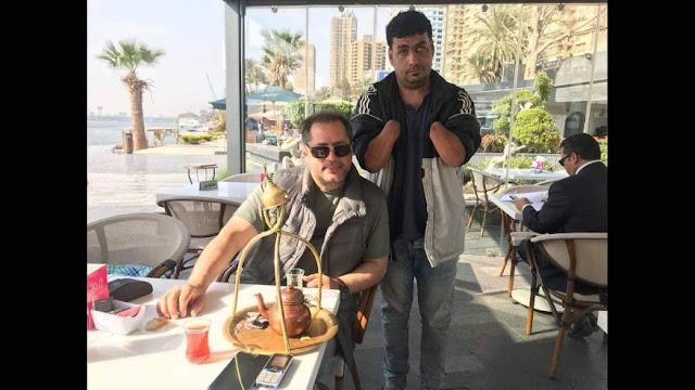 فيصل بني المرجة يعود إلى القاهرة قادما من بيروت لاستكمال فيلمه اليتيم