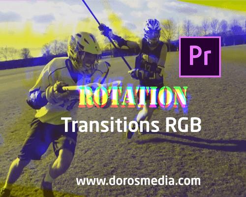 إنتقالات RGB مميزة للأدوبي بريمير مجانا على مدونة دروس ميديا Transitions RGB