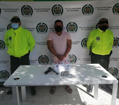 hoyennoticia.com, Peligroso sujeto fue capturado en la Comuna 10 de Riohacha