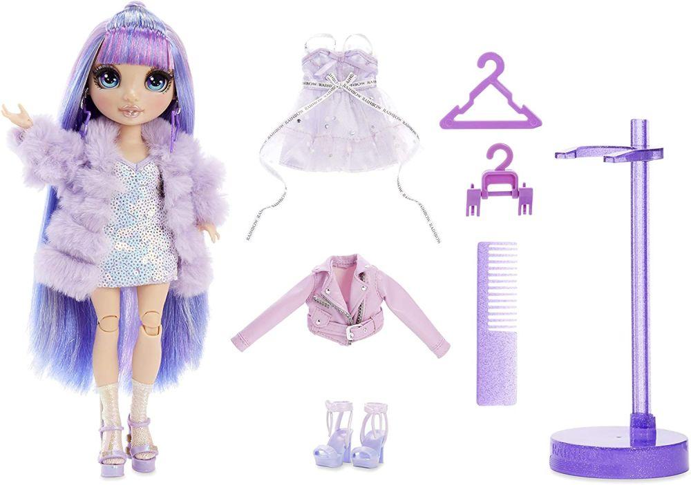 Кукла Rainbow High Violet Willow с сиреневыми волосами