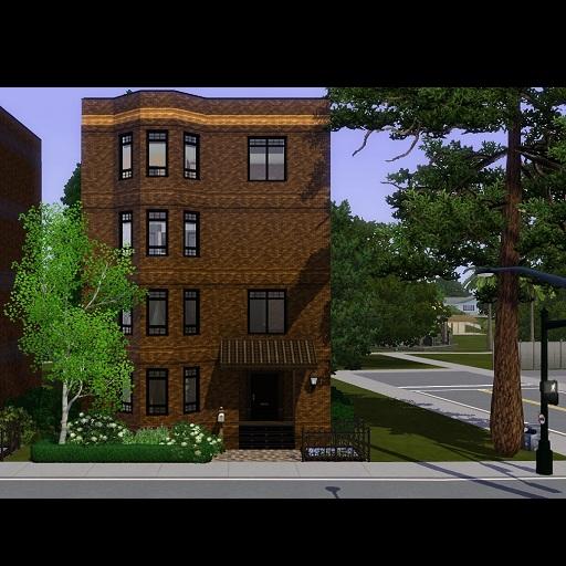 My Sims 3 Blog: Sousoon Urban Residential Lot CC free
