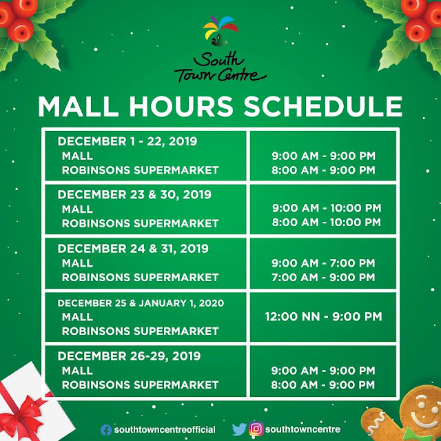 South Town Centre Mall Hours 2019