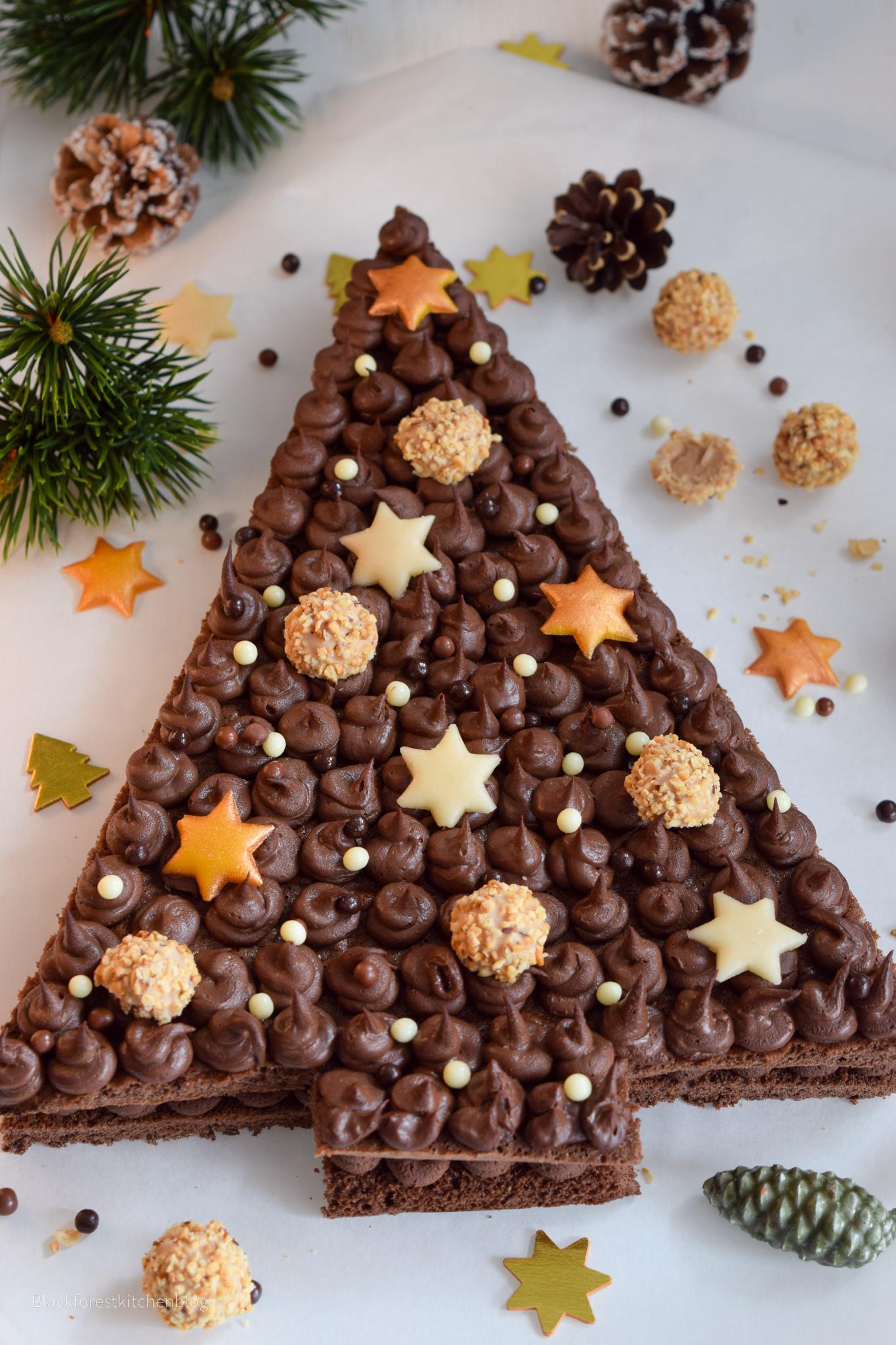 Weihnachtlicher Tannenbaum-Lettercake von Blackforestkitchen | SCCC 2020: 3. Türchen | Gewinnspiel