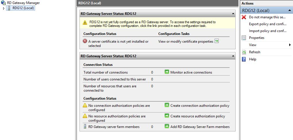 Terry Lus Blog Deploying Remote Desktop Gateway In Windows Server