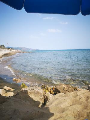 Mare sulla costa di Ulisse