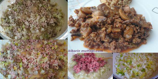 Kolay ve pratik bir yemek tarifi arayanlar için, en kolay yemek tarifi kıymalı mantar sote afiyetle...