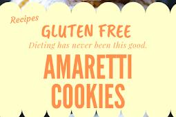 Amaretti cookies Gluten free #glutenfree
