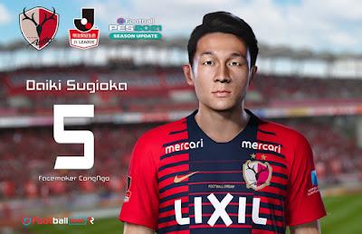 PES 2021 Faces Daiki Sugioka by CongNgo