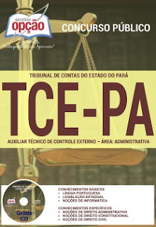 Apostila para concurso do TCE-PA - Auxiliar Técnico de Controle Externo
