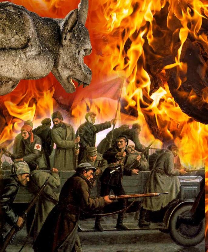 Revolução Bolchevista, Moscou 1917