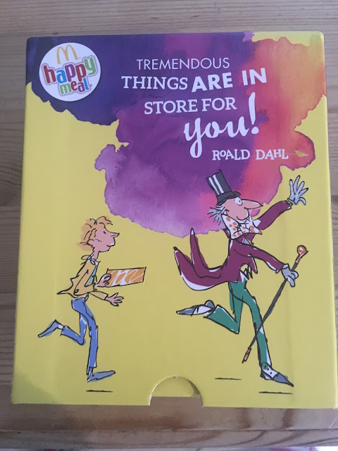 Roald Dahl at McDonald's #HappyReaders