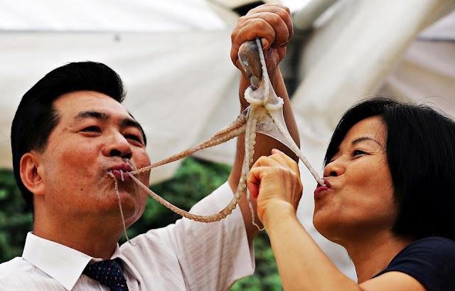 Sannakji, món ăn thách thức lòng can đảm tại Hàn Quốc