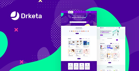 Digital Marketplace PSD Template