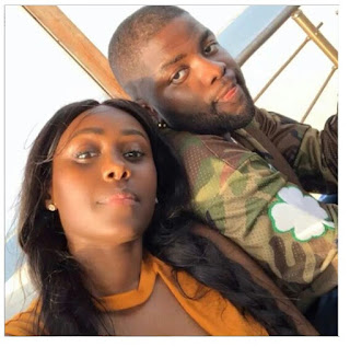 Singer Skales Shares New Lovely Photo With His Rwandan-Canadian Girlfriend