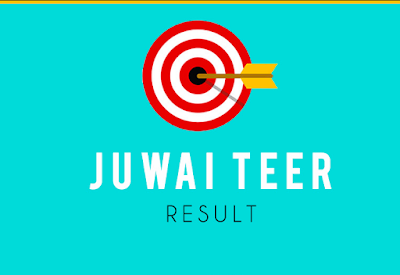 Juwai Teer Result Online Today - Check Juwai Teer Results List August 2020