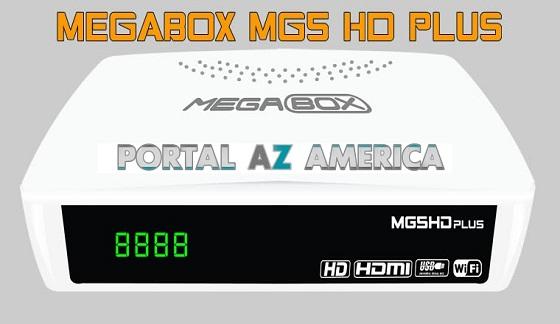 Resultado de imagem para MEGABOX MG5 PLUS PORTAL AZAMERICA
