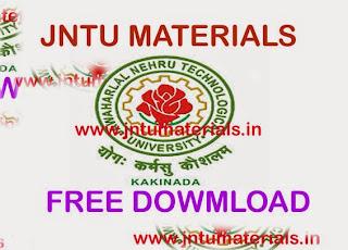 JNTU Embedded System material [ 8 units notes] - JNTU