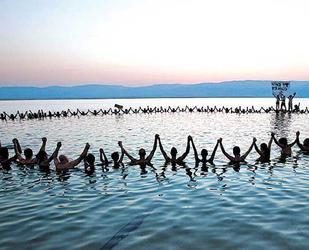Sequedad del Mar Muerto Israel