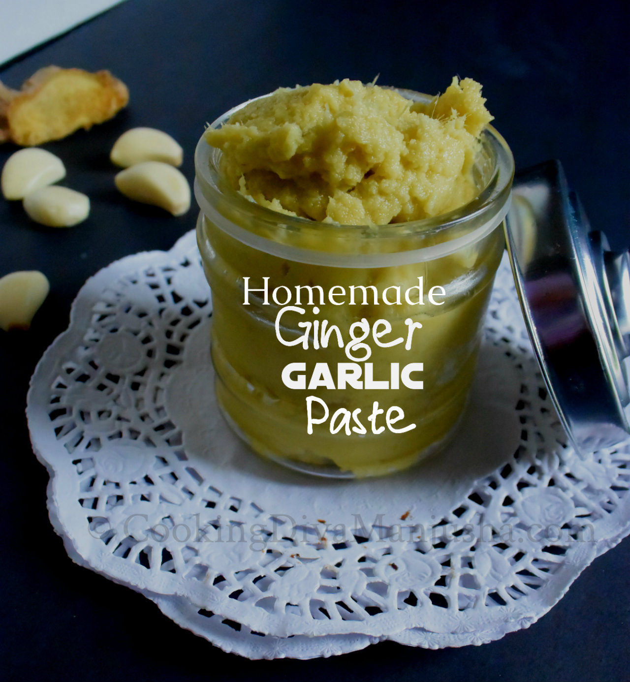 How to Preserve Ginger Paste