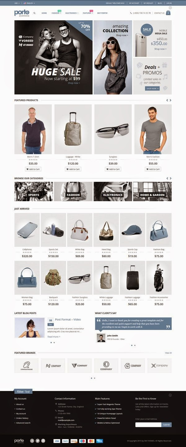 Ultimate Responsive Magento Theme