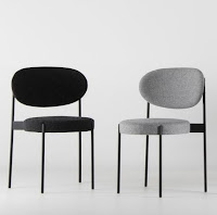 Panton Series 430 living room side chairs