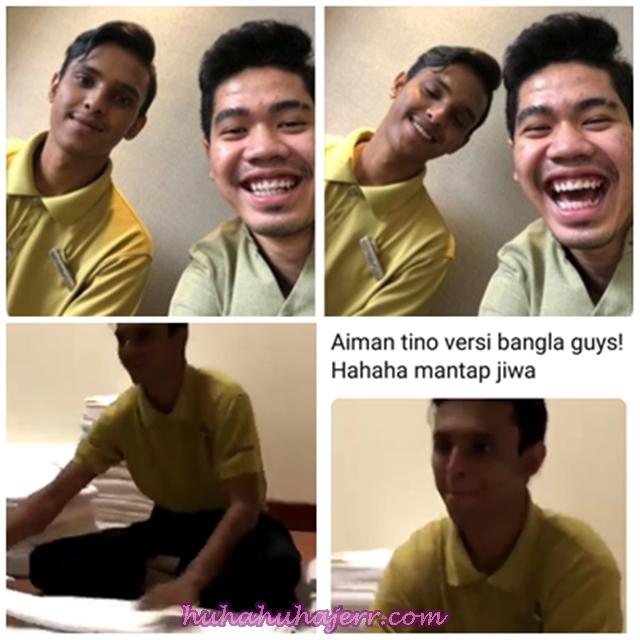 Mat Bangla Seiras Aiman Tino, Lebih Handsome Dan Manis Lah... Hahaha!