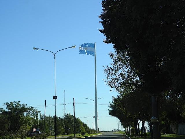 Calle en Marcos Juarez Cordoba