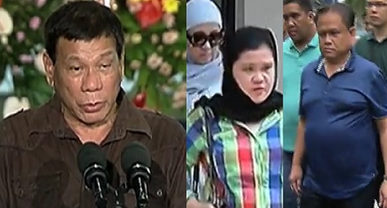 MAYORS, Officials named in Duterte's Drug Protectors List Surrender to PNP