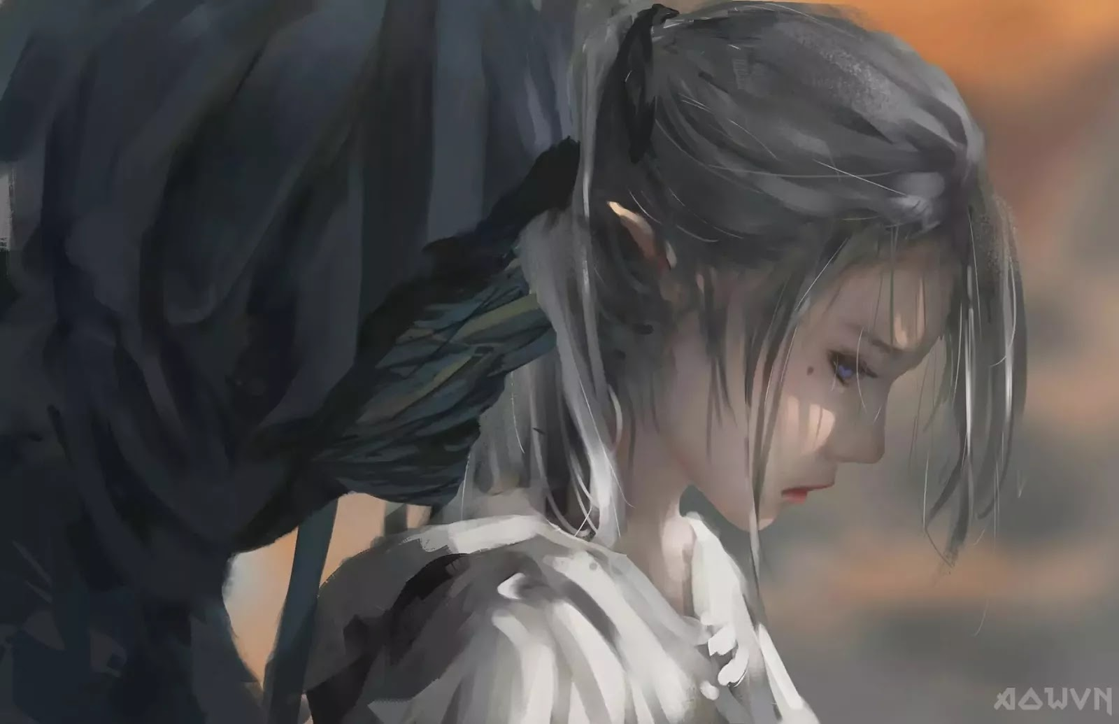 90 AowVN.org m - [ Hình Nền ] Anime Cực Đẹp by Wlop | Wallpaper Premium / Update