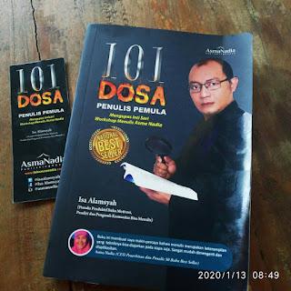 Review buku, 101 dosa penulis pemula