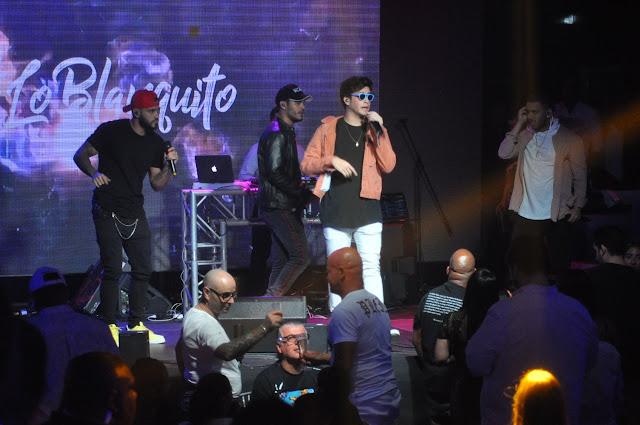 Lo Blanquito, Darell y Mark B, inauguran Blue Live Club en Hard Rock Live Santo Domingo