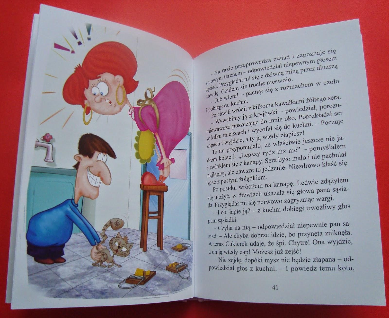 jak się masz cukierku, książka z humorem, dreams, recenzja