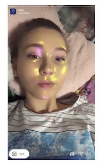 Club filter instagram || Cara dapatkan filter Party Club di Instagram