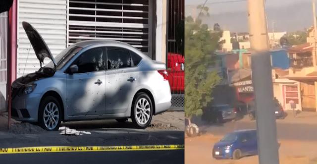 Video: Este es el momento exacto en el que Sicarios en Culiacán acribillan de más de 100 balazos, bajan y rematan a alto mando Policiaco de Sinaloa