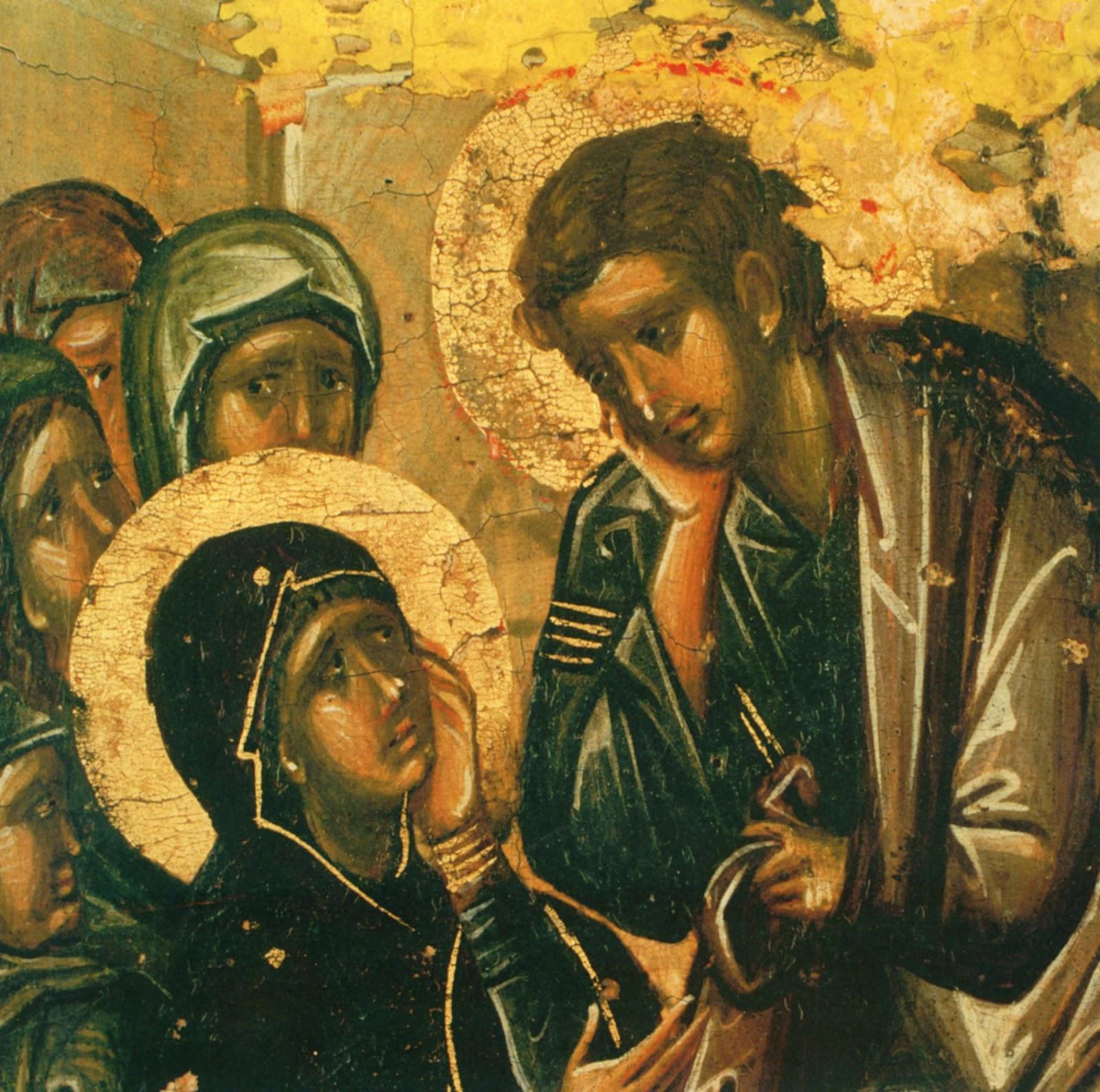 anemourion: Η Παναγία και ο Ιωάννης