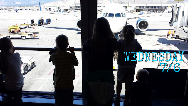 One a Day from Utah, Week 2 -- Week 2 of our family's Utah adventure... and my best tip for navigating the airport with a half-dozen kids in tow.  {posted @ Unremarkable Files}