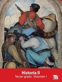 Libro de texto Telesecundaria Historia Volumen 1 Tercer grado 2019-2020