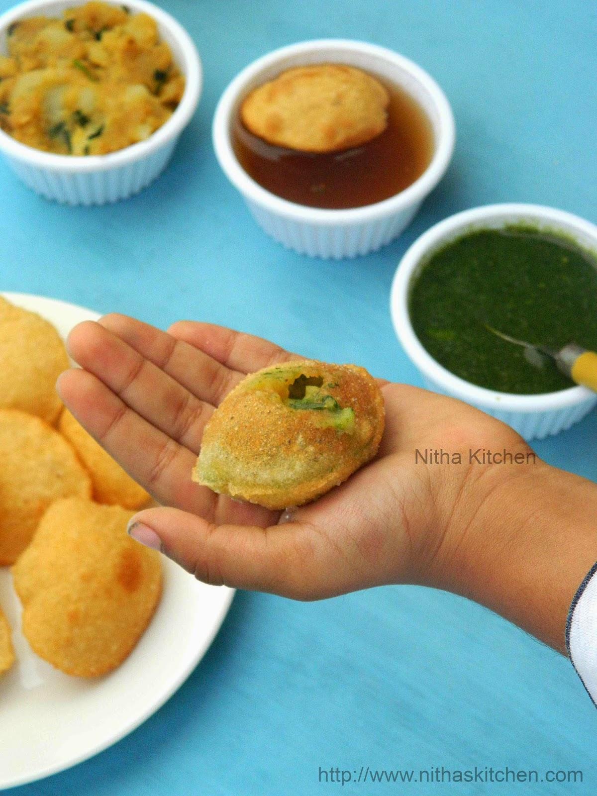 how to make pani puri dough
